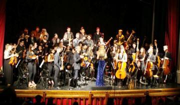 Imagen de La Orquesta-Escuela de Dolores se presenta en el Parque Termal
