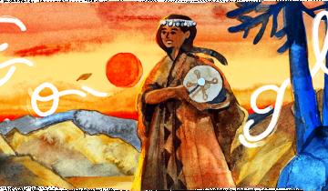 Imagen de Aimé Painé: quién fue la argentina que Google homenajea hoy en su doodle