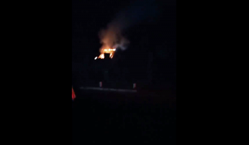 Imagen de Mar del Tuyú: rescatan a un vecino de un incendio tras la explosión de una garrafa