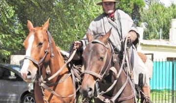 Imagen de General Madariaga: murió el jinete Adrián Acosta, recordado por haber recorrido mil kilómetros a caballo