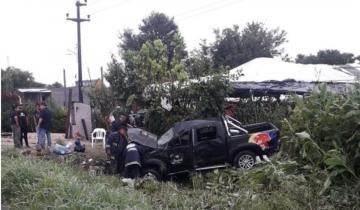Imagen de Integrantes del grupo Damas Gratis protagonizaron un fuerte accidente de tránsito