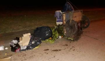 Imagen de Tras un accidente secuestran un carro y una moto en General Madariaga