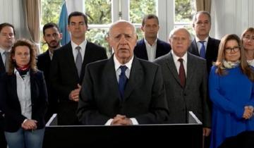 Imagen de Por la crisis, Lavagna suspendió su campaña y pidió la emergencia alimentaria