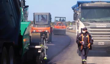 Imagen de Ruta 11: Cardozo recorrió la reactivación de la obra de la Autovía, que se había parado tras las primarias