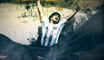 """Imagen de Diego Maradona: proponen una """"Navidad Maradoniana"""" con una programación especial en la TV"""