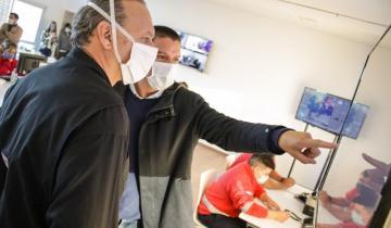 Imagen de Berni en La Costa: coronavirus, elogios al trabajo municipal y buena sintonía con los intendentes