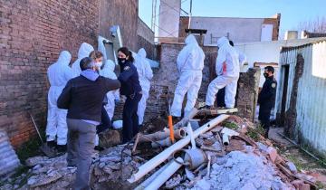 Imagen de Hallan envuelta y enterrada en una obra en construcción de Junín a la mujer buscada hace 18 días