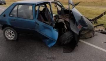 Imagen de Un herido tras un impactante choque en la Ruta 11