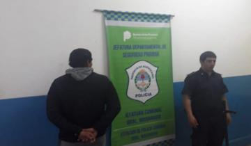 Imagen de Detuvieron a un joven con pedido de captura en Madariaga