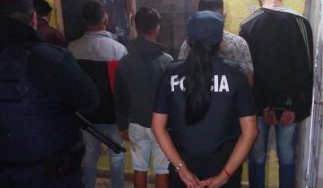 Imagen de Cinco detenidos luego de un allanamiento en San Clemente