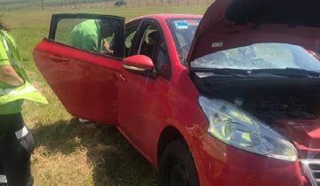 Imagen de Dos autos a la banquina en sendos despistes sin heridos en la Ruta 2