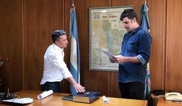 Imagen de Rocha juró como intendente de General Guido
