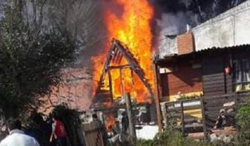 Imagen de Villa Gesell: una familia perdió todo por el incendio de su casa