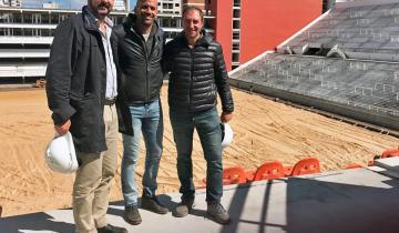 Imagen de Estadio Hirschi: Verón confirmó qué día Estudiantes inaugurará su nueva casa de 57 y 1