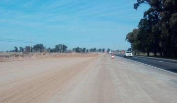 Imagen de Suspendieron la obra de la Ruta 3 y unas 50 personas se quedaron sin trabajo
