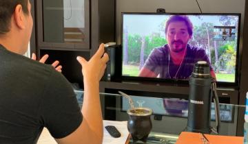 Imagen de Coronavirus: de qué hablaron Cardozo y Yeza esta tarde por videollamada