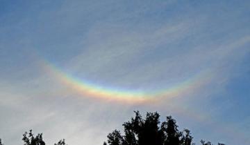 Imagen de Extraño fenómeno durante la pandemia: apareció un arcoíris al revés en Italia