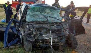 Imagen de Siete muertos, entre ellos tres menores, en un accidente en la ruta