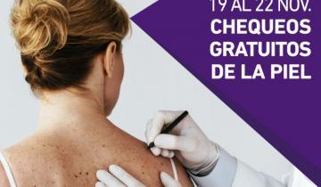 Imagen de Una campaña contra el cáncer de piel en la Provincia ofrece controles gratuitos hasta el viernes