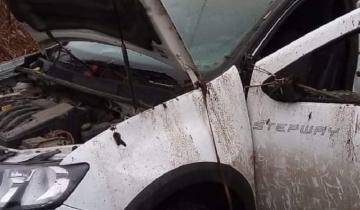 Imagen de Villa Gesell: una mujer resultó herida tras un despiste y vuelco en la Ruta 11
