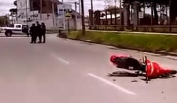 Imagen de Quiso evadir un control de tránsito y atropelló a una inspectora en Tandil