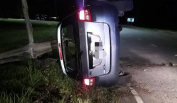 Imagen de Un médico de Cariló falleció tras volcar con su auto en la ruta 2