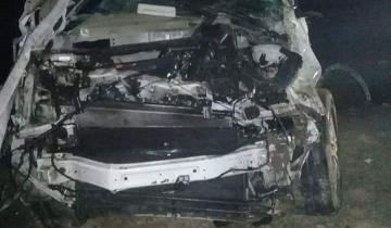 Imagen de Fatal accidente en la Ruta 63 involucra al cantante Pepo
