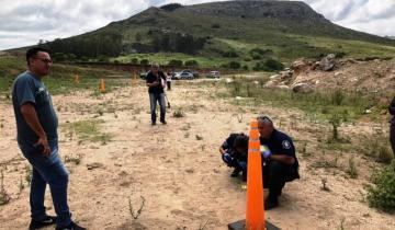 Imagen de Balcarce: practicaban tiro en una cantera, una bala rebotó y mató a un hombre