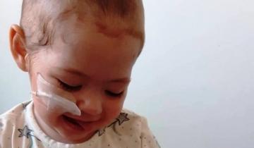 Imagen de A 90 días del trasplante de médula ósea, Eloísa evoluciona muy bien