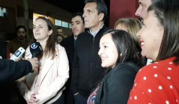 Imagen de Passo lanzó su precandidatura a intendenta de Lavalle por el Frente de Todos con la visita de Massa