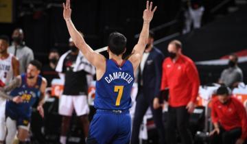 Imagen de Denver Nuggets ganó en la NBA con una gran actuación de Facundo Campazzo