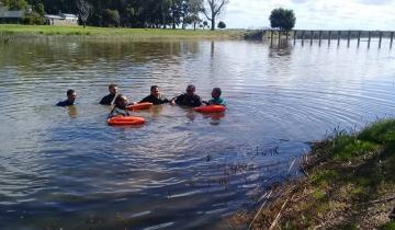 Imagen de Chascomús: buscan a una persona desaparecida en la laguna Vitel