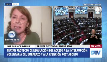 Imagen de Aborto legal: Roxana Reyes y Blanca Osuna, las historias de dos votos especiales
