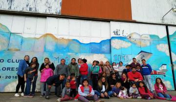 Imagen de El Aero Club Dolores festejó el Día del Niño con los chicos de El Maracaná