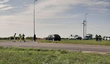 Imagen de Otro accidente en la Ruta 11: choque con heridos en Aguas Verdes