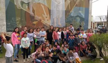 Imagen de Se realizó una jornada de actividades infantiles y juveniles en Dolores