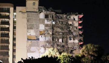 Imagen de Derrumbe en Miami: hay 4 argentinos desparecidos