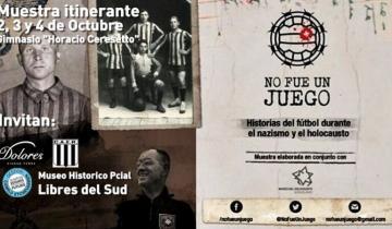 """Imagen de Llega la muestra itinerante """"No fue un juego"""" a Dolores"""