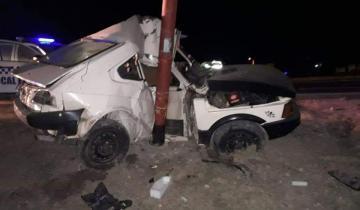 Imagen de Un policía de Dolores falleció y otro está grave tras sufrir un accidente de tránsito