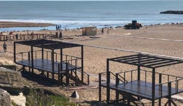 Imagen de La Provincia: comenzó el armado de las playas públicas en la Costa Atlántica