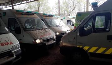 Imagen de Coronavirus: la Provincia recuperó 24 ambulancias abandonadas por la gestión de Vidal