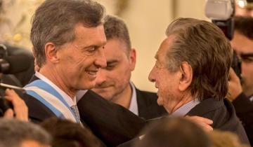 """Imagen de Mauricio Macri de Franco Macri: """"En el último trato consciente que tengo con mi padre, me pidió una pastilla para sacarlo de acá"""""""
