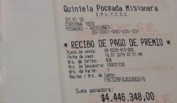 Imagen de Golpe de suerte: revolvió la basura y encontró el ticket ganador de la Quiniela