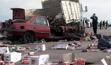 Imagen de Alarmante: en 2018 murieron seis personas por día en accidentes de tránsito en la Provincia