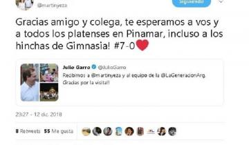 Imagen de El intendente de Pinamar cargó a los hinchas de Gimnasia y se arrepintió