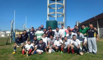 Imagen de Dolores: se está realizando un Seven de Rugby en la Unidad Penal N° 6