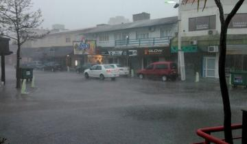 Imagen de Villa Gesell, la ciudad argentina con más lluvia durante un día en este invierno
