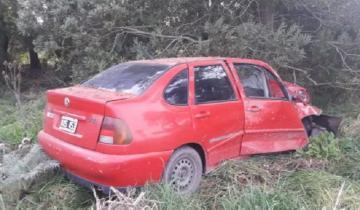Imagen de Accidente fatal en la Ruta 88: murió una marplatense al chocar su auto contra un árbol