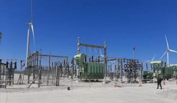 Imagen de Miramar: se inauguró oficialmente el Parque Eólico que brinda energía limpia a la región