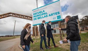 Imagen de La Costa: comenzaron las obras de la nueva sede de la Escuela Municipal de Bellas Artes